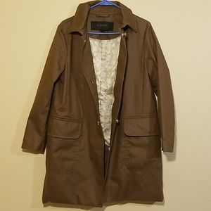 Coach Trench Coat w/ Gold Turn Lock Buttons